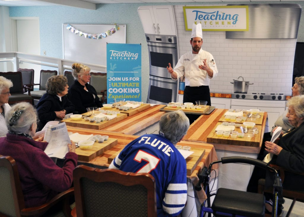Hultquist Place Teaching Kitchen Chef Dave